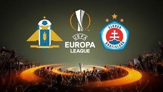 Pyunik vs Slovan Bratislava full match