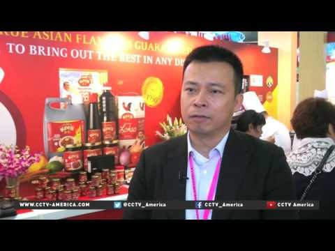 International foods on display at Singapore trade show
