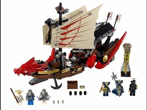 El Del Asalto De Ninjago Lego Barco Ninja Vuelo Juguete Final mn0N8w