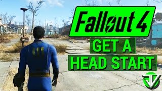 FALLOUT 4: How T๐ Get a MASSIVE HEAD START in Fallout 4! (Hit Level 10 in Less Than 30 Minutes!)