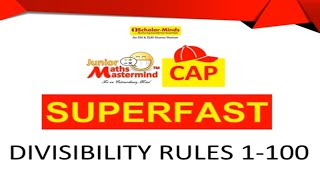 Scholarminds- Superfast Math-Divisibility rule