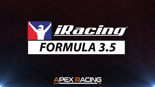 iRacing Formula 3.5 Championship | Week 2 at Laguna Seca