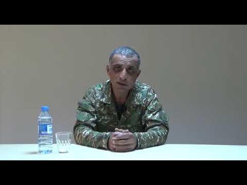 армянский майор призывает армянский народ