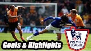 Wolverhampton vs Everton - Goals & Highlights - Premier League 18-19