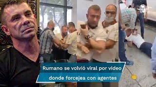 Florian Tudor solicitó al Gobierno mexicano ser reconocido como refugiado y en junio consiguió una suspensión que impide a las autoridades regresarlo a Rumania