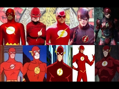 flash evolution in tv amp movies youtube