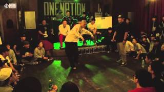 TIO vs A.K.A TWO / Quarterfinal 2 / One Nation Under A Groove Vol.2 / Allthatstreet