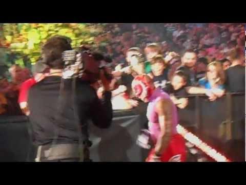 WWE Night of Champions 2012 - Rey Mysterio Entrance