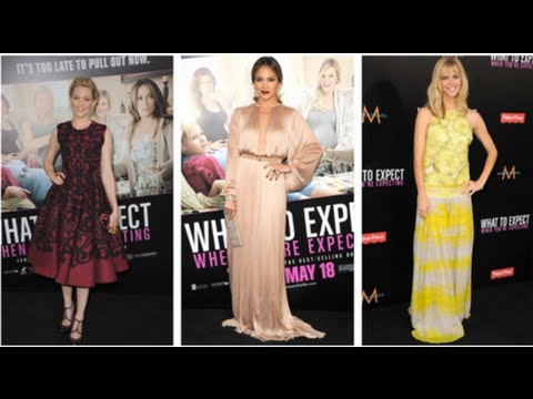 Jennifer Lopez Fashion, What to Expect When You're Expecting Premiere, Fab Flash