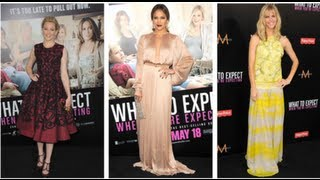 Jennifer Lopez Fashion, What to Expect When You're Expecting Premiere, Fab Flash | POPSUGAR Fashion