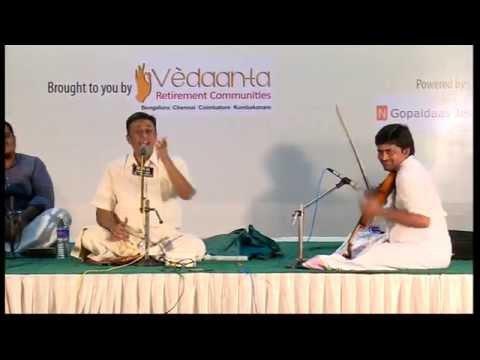 Carnatic Vocal l Sanjay Subrahmanyam | Bharat Sangeet Utsav 2015 | Coimbatore