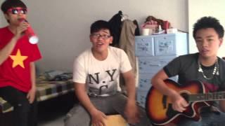 Tôi Là Người Việt Nam - Guitar Cover by Wind & Tâm Nguyễn & Bi Cajon