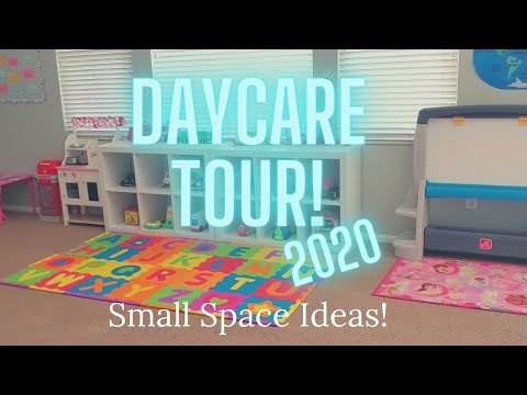 Daycare Tour 2020 // Small Family Home Daycare
