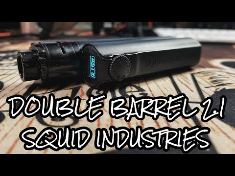 Live look at the DOUBLE BARREL V2.1 from Squid industries
