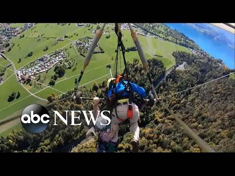 American injured during hang-gliding adventure in Switzerland