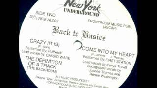 The Backroom Boyz - The Definition Of A Track (The Back Room Mix)