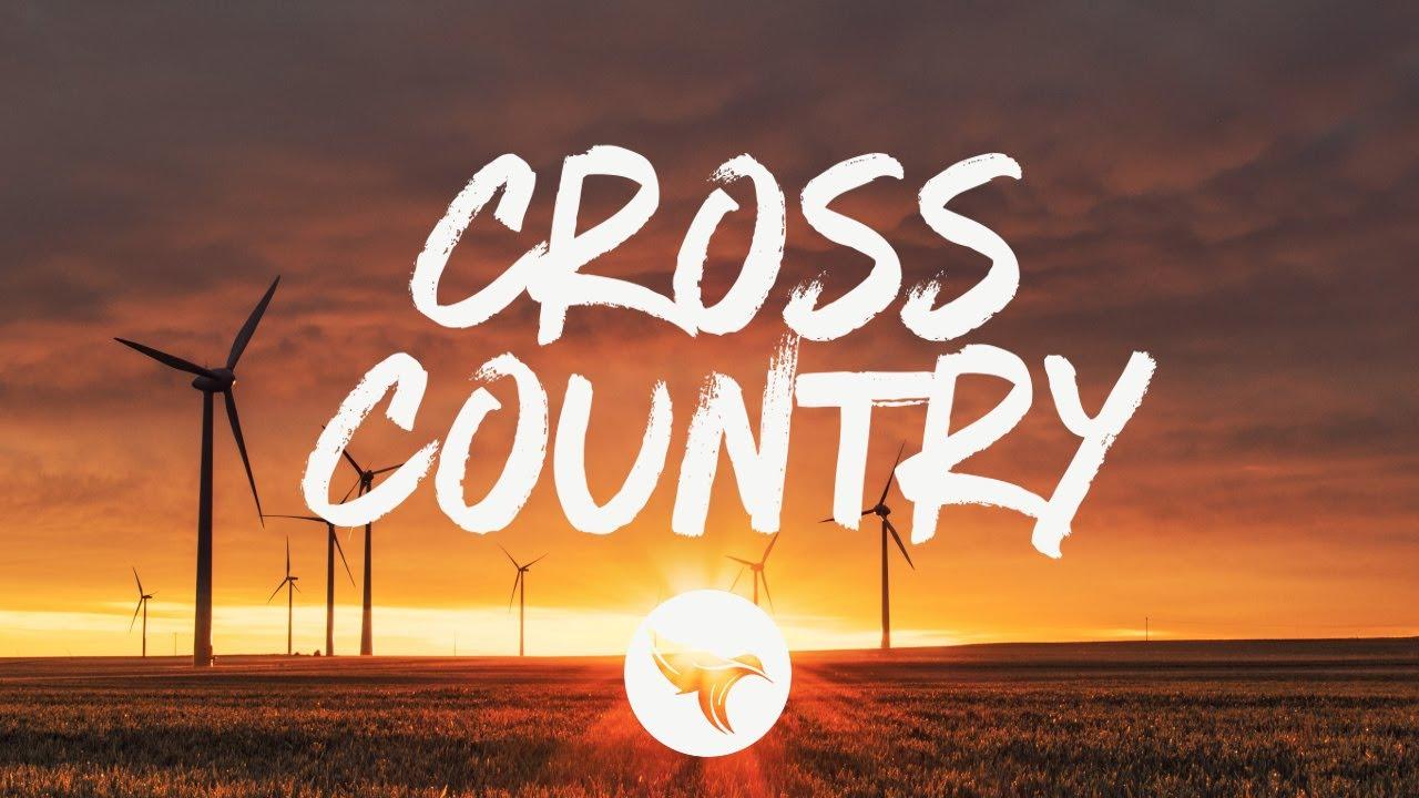 BRELAND feat.  Mickey Guyton - Cross Country (Lyrics)