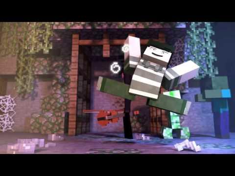 Встреча с ведьмой   Minecraft Animation Rus DUB by Paveshka русский дубляж