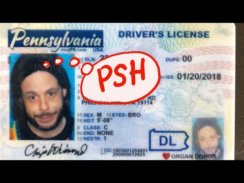 PSH...GETTING MY DRIVER LICENSE PIC!