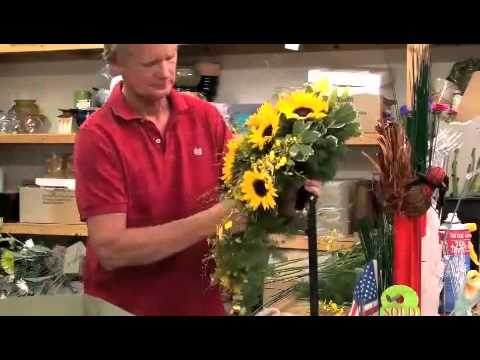 how to make a cascading wedding bouquet sunflower bridal bouquet made in fast forward at gillespie 4944