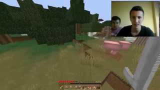 Minecraft prezivljavanje #1 (BALKAN GAMEPLAY) Prva noc u minecraftu sa Edom