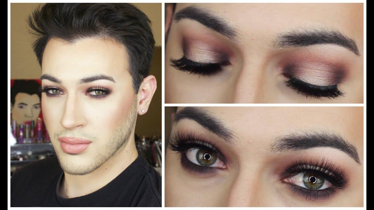 Warm Halo Eye Makeup Tutorial Mannymua Youtube