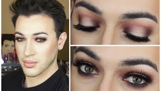 Warm Halo Eye Makeup Tutorial | MannyMua