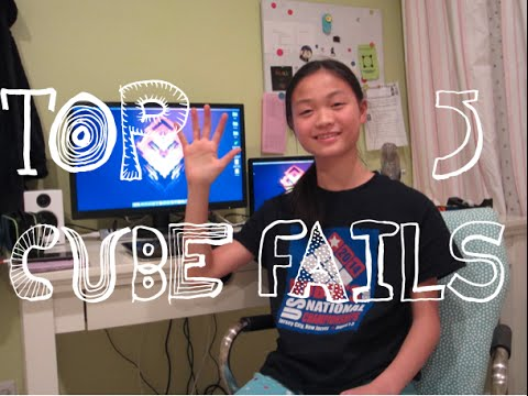 Top 5 Worst Cube Fails Ever! (Feat. TheProgrammingCuber)