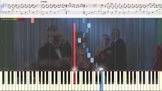 Далёкое - Смирнов М. (Пират и пиратка) (Ноты и Видеоурок для фортепиано) (piano cover)