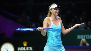 Sharapova VS Halep Highlight 2015