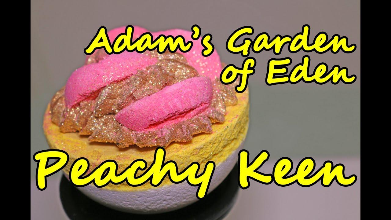 27e7da1c4b Adam's Garden of Eden - Peachy Keen Bath Bomb Cocktail - DEMO - Underwater  View - Review