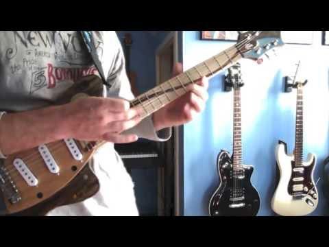 Gone Fishing Guitar - 2013 Wildflower! Art Auction Guitar