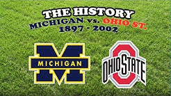 History of Michigan vs Ohio State