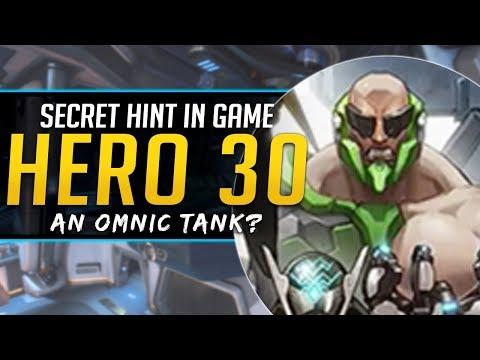 Overwatch Secret Hero 30 Hint in game - Omnic Tank?