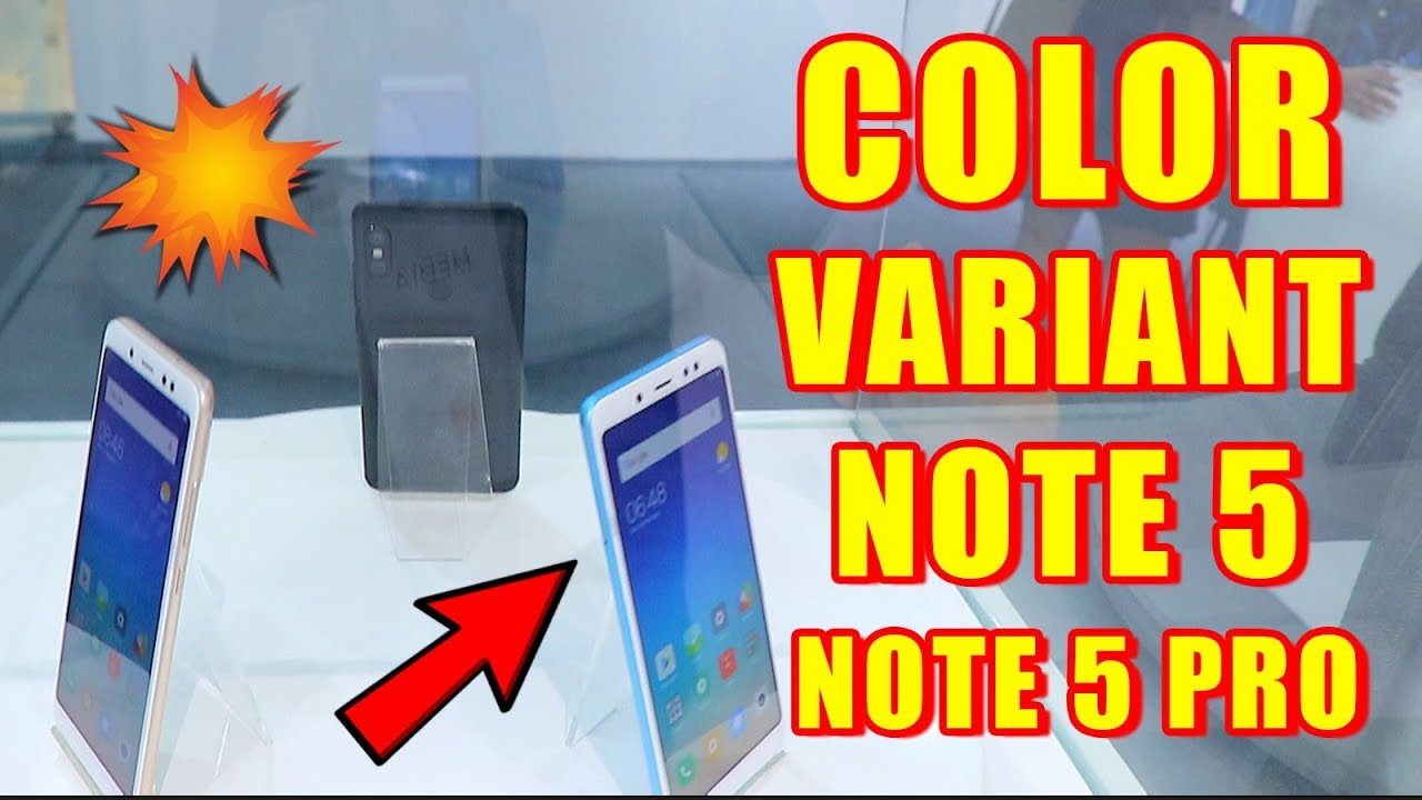 Note 5 Note 5 Pro Color Comparison Blue Vs Rose Gold Vs Gold Vs