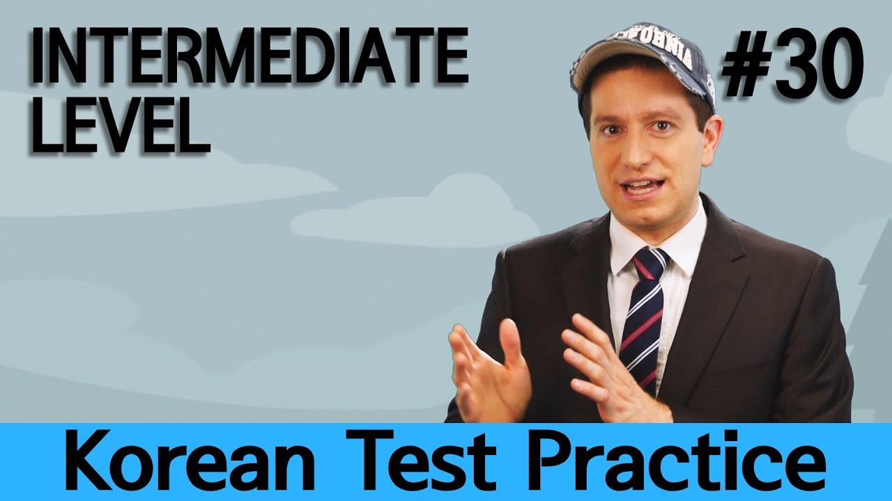 Korean Test Practice with Billy [Ep. 30] – Intermediate Korean (Listening Practice)