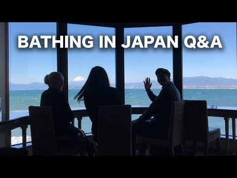 Bathing in Japan Q&A at Enoshima Island Spa