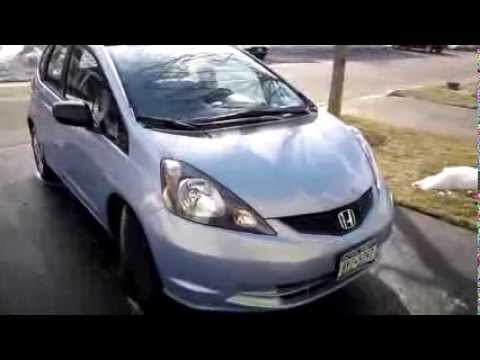 2010 Honda Fit Startup, Engine, Review/Update (10k)