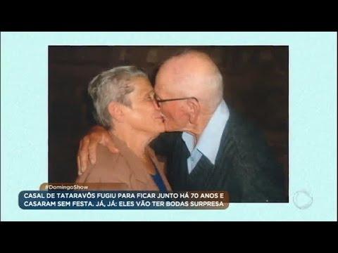 Casal de tataravôs fugiu pra ficar junto há 70 anos; conheça a história