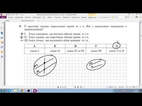 Решение тестов ЗНО-2018 математика (разборы, ответы)