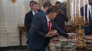 The Clemson Tigers Were Served McDonalds At The White House?!!!
