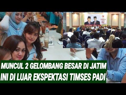 MUNCUL 2 GELOMBNG BESAR DI JATIM DUKUNG PRABOWO-SANDIAGA BIKIN TIMSES KAGET;BPF JATIM;PILPRES 2019