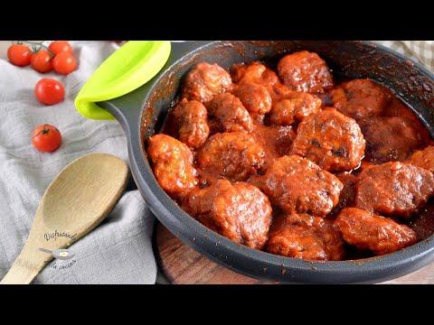 Filetes rusos en salsa fácil con 3 ingredientes