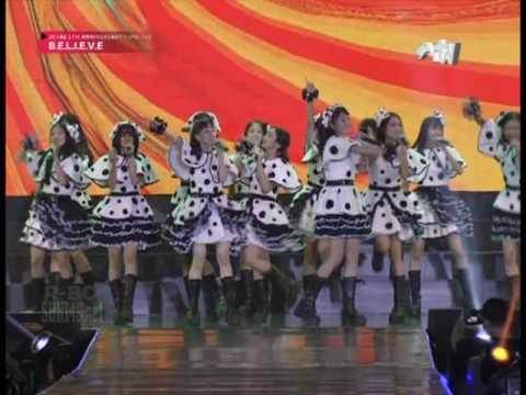[1080p] JKT48 - Medley Melon Juice + Suki Suki Skip @ JKT48 5th Anniversary Concert BELIEVE - RTV