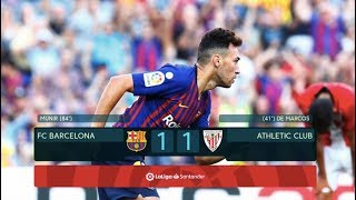 Barcelona vs Athletic Club [1-1] - MATCH REVIEW