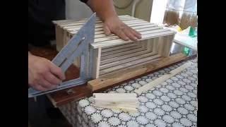 сборка 145 рамки без кондуктора