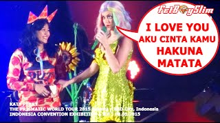 KATY PERRY & CINDY Learn Bahasa live in BSD CITY, Jakarta Indonesia 2015