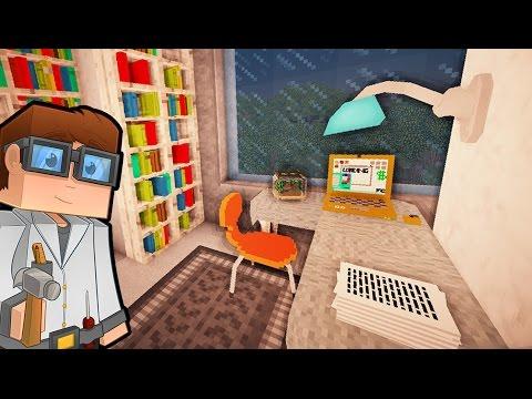 КОМНАТА ОТДЫХА и КОРИДОР в майнкрафт - ч 3 - Minecraft - Строительный креатив 3