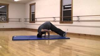 HipHop Tutorial Headstand.
