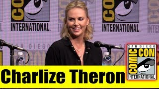 EW's Women Who Kick Ass Icon Edition: CHARLIZE THERON | Comic Con 2017 Full Panel